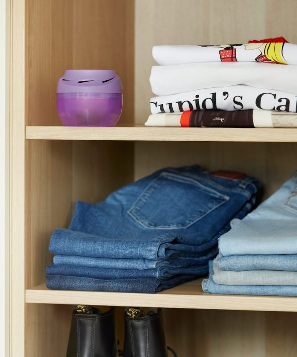 Humydry Duplo in wardrobe