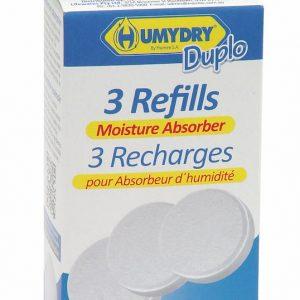 HUMYDRY® DEHUMIDIFER DUPLO REFILLS 3x75g