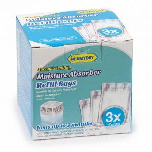 HUMYDRY® MOISTURE ABSORBER REFILLS 3X450g